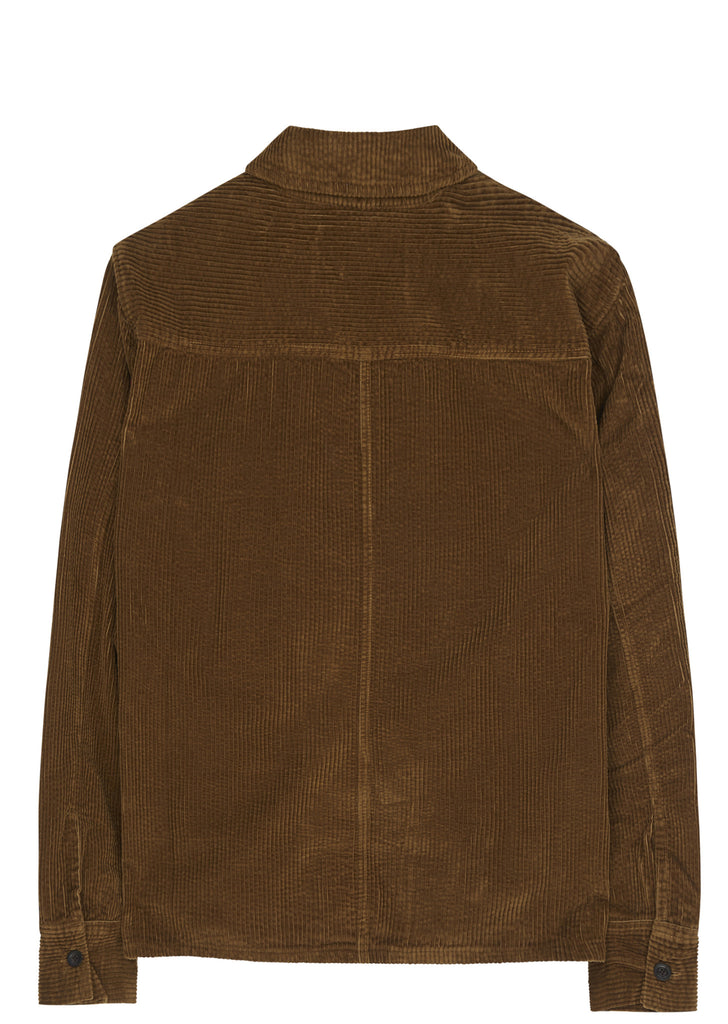 SS17 Drip Shirt in Brown Olive