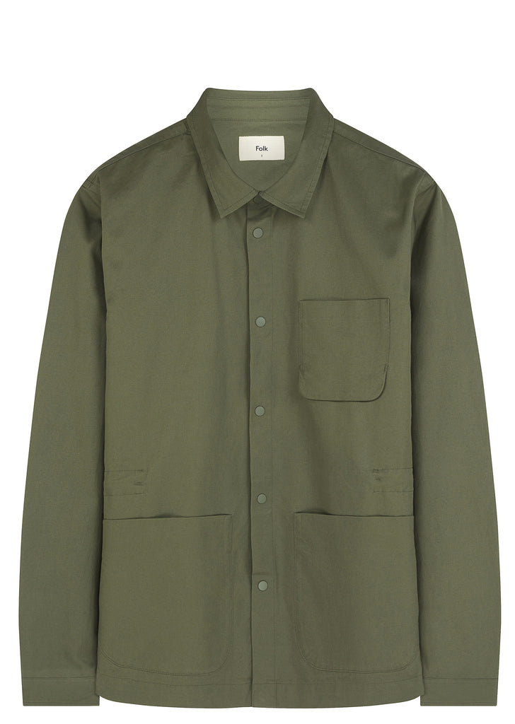 SS17 Painters Jacket in Military Green