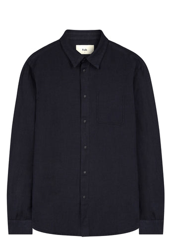 SS17 Pop Stud Shirt in Navy