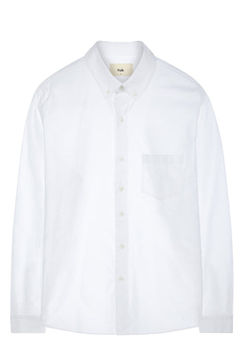 SS17 Button Down Shirt in White Oxford