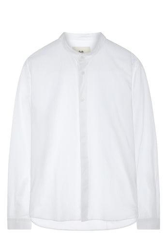 SS17 Grandad Shirt in White