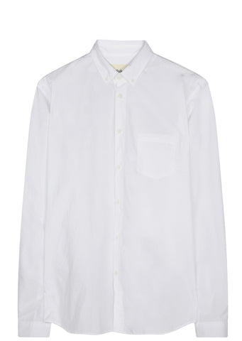 SS17 Relaxed Fit Button Down Shirt in White