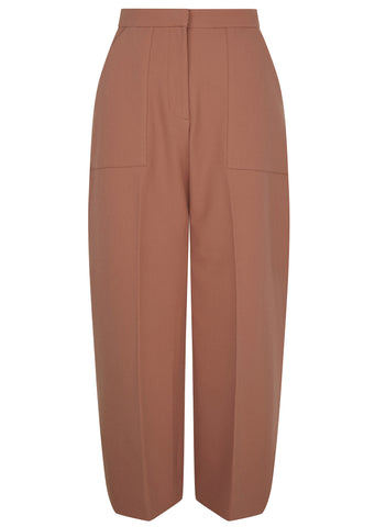 SS17 London Crepe Culotte in Dusty Copper