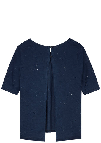 SS17 Scoopneck T-Shirt in Navy
