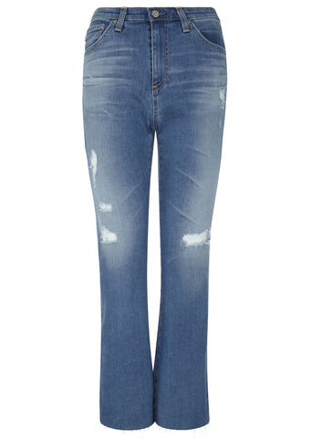SS17 Jodi Crop Denim in 12 Year Canyon Destroyed