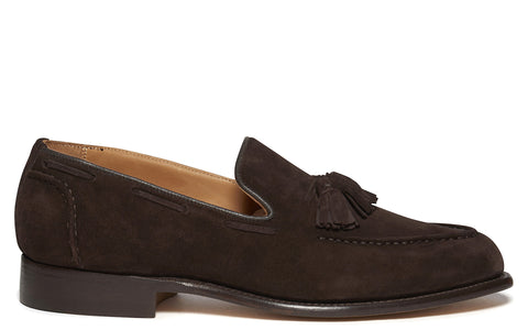 SS17 Chelsea Tassel Loafer in Coffee