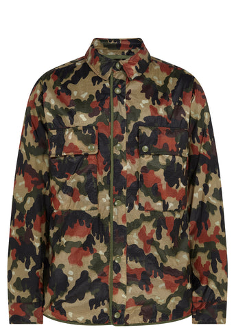 SS17 Maske Ripstop Overshirt in Alpenflage Camo