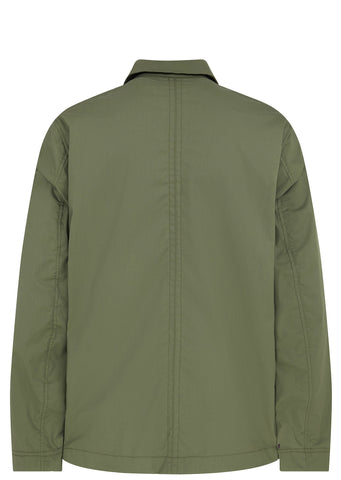 SS17 Gabel Cotogum Coach Jacket in Military Green