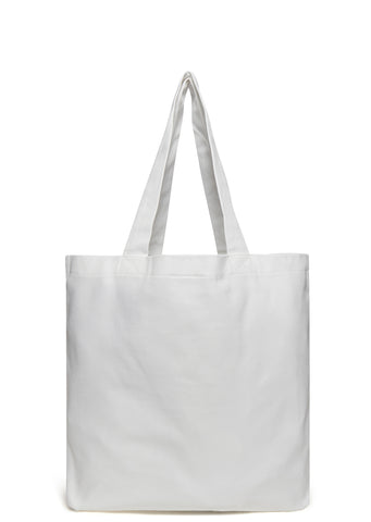SS17 I Fox Paris Tote Bag in White