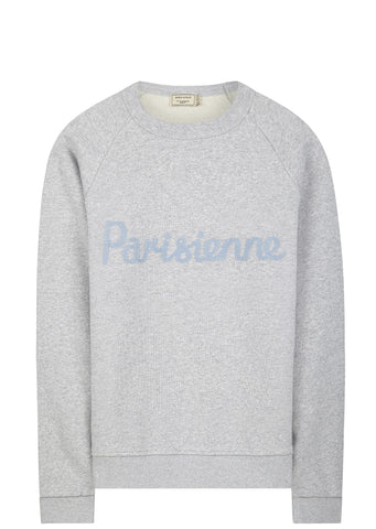 SS17 Parisienne Sweatshirt in Light Grey
