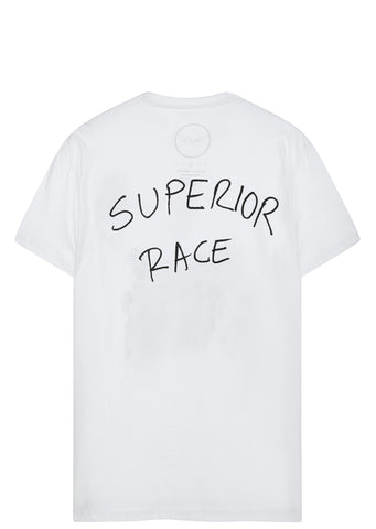 SS17 Superior Race T-Shirt in White