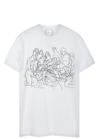 SS17 Everybody Gets Fucked T-Shirt in White