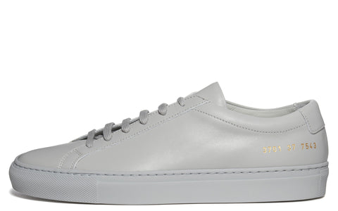 SS17 Original Achilles Low Leather Sneaker in Grey