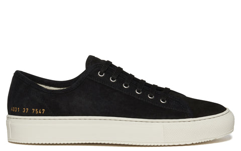 SS17 Original Suede Tournament Low Sneaker in Black