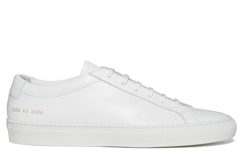 SS17 Original Achilles Low Leather Sneaker in White