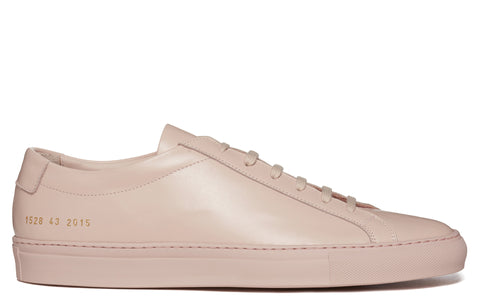 SS17 Original Achilles Low Leather Sneaker in Blush