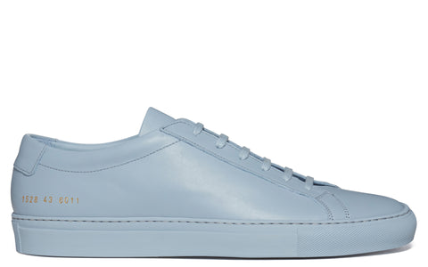 SS17 Original Achilles Low Leather Sneaker in Powder Blue