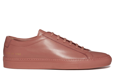 SS17 Original Achilles Low Leather Sneaker in Antique Rose