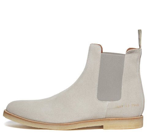 SS17 Suede Chelsea Boot in Grey