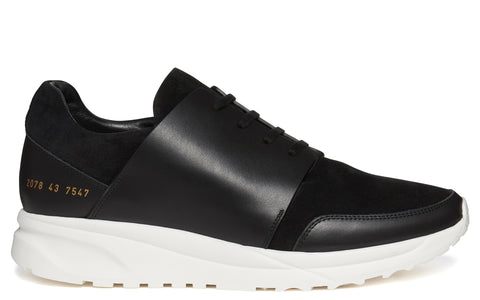 SS17 Sport Sneaker in Black/White