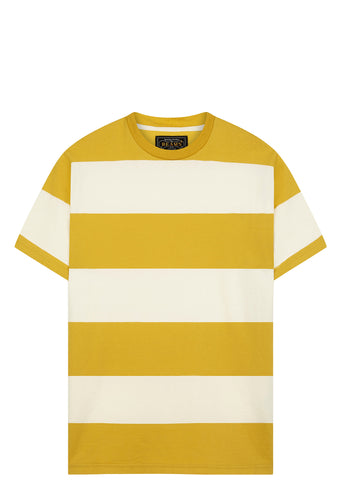 SS17 Block Striped T-Shirt in Yellow