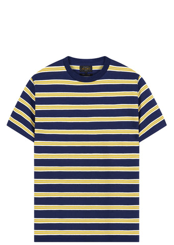 SS17 Mississippi Striped T-Shirt in Navy
