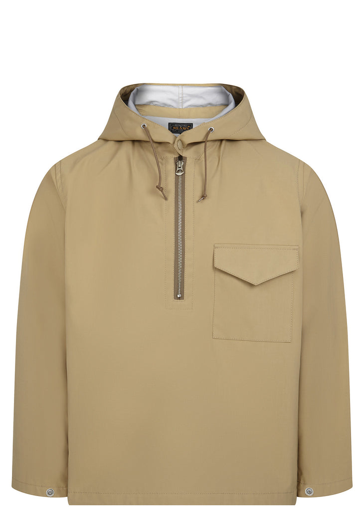 SS17 Three-Layered Rip Stop Smock in Khaki