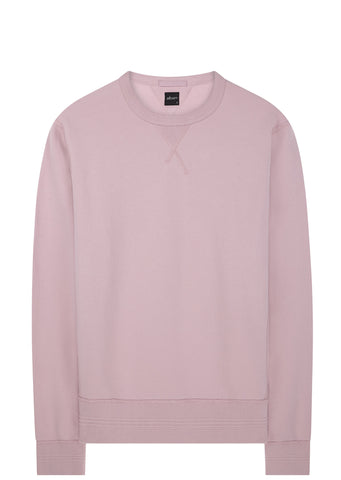 SS17 Garment Dyed Sweatshirt in Pink