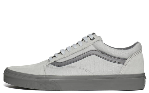 SS17 UA Old Skool Canvas Sneaker in High Rise/Pewter