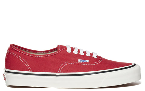 SS17 'Authentic' Canvas Sneaker in Red