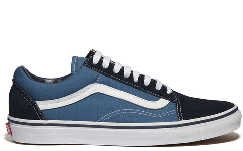 SS17 Old Skool Canvas Sneaker in Navy