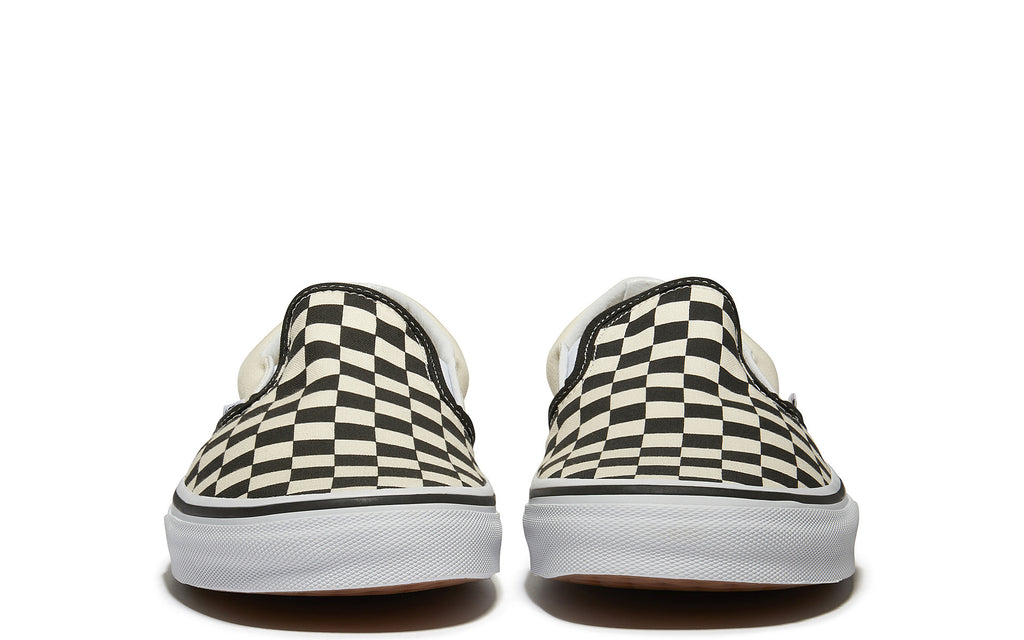 SS17 Slip-On Sneaker in Black/White Checkerboard