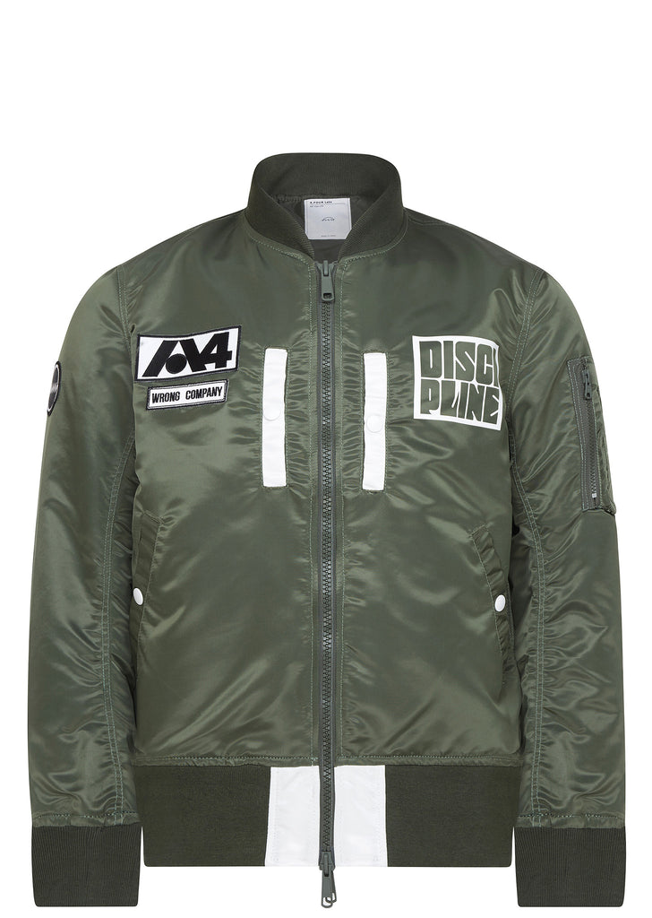 SS17 MA-1 Jacket in Olive Green
