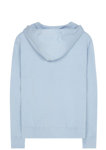 SS17 Hand Graphic Hoodie in Pale Blue
