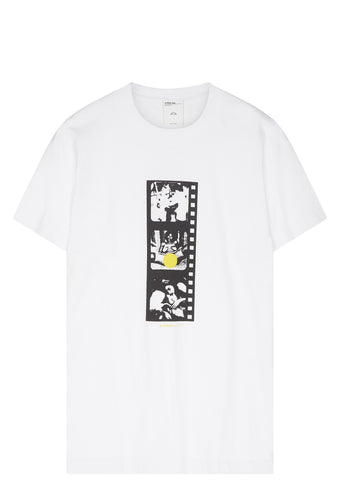 SS17 Negative Film Roll T-Shirt in White