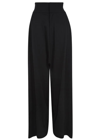 SS17 Elegant Wide Pant in Black
