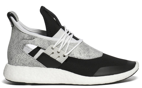 SS17 Ell Run Sneaker in FTW White/ Core Black