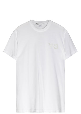 Y-3 Classic Logo T-shirt in White
