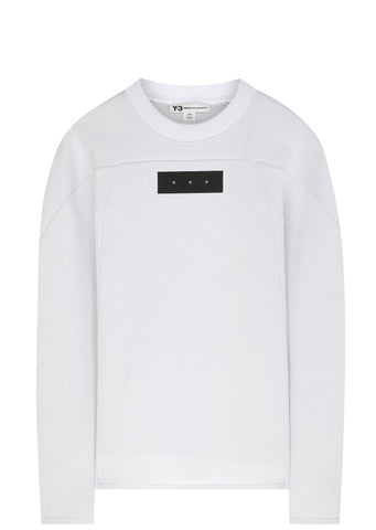 SS17 Future Sport Crew Sweat in White