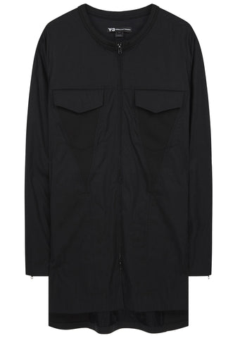 SS17 Minimalist Long Shirt in Black