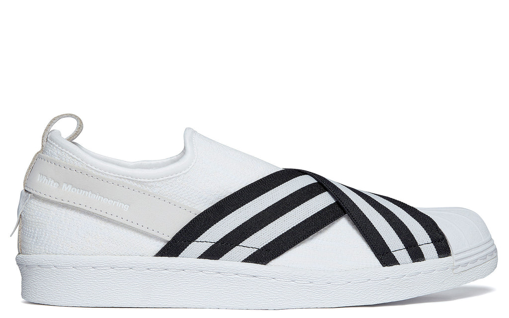 x adidas Originals Superstars in White