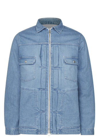 SS17 Denim Overshirt in Light Blue