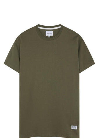 SS17 Niels Basic Short Sleeve T-shirt in Dried Olive