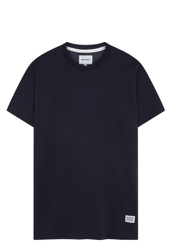 SS17 Niels Basic Short Sleeve T-shirt in Navy