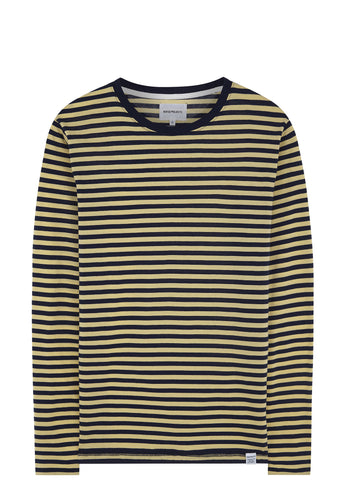 SS17 Svali Military Stripe in Navy / Strand Yellow