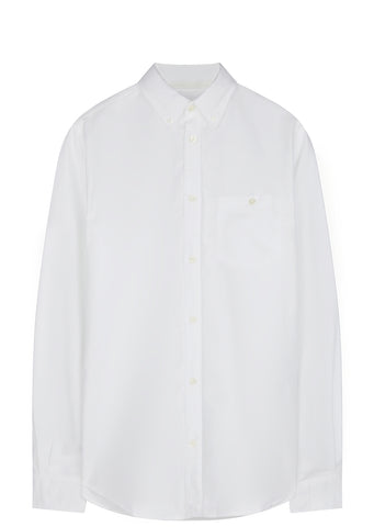 SS17 Anton Oxford Shirt in White