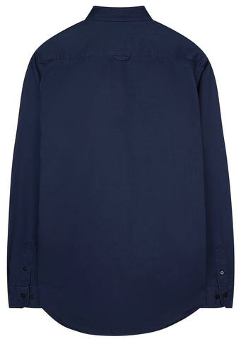 SS17 Villads Twill Shirt in Navy
