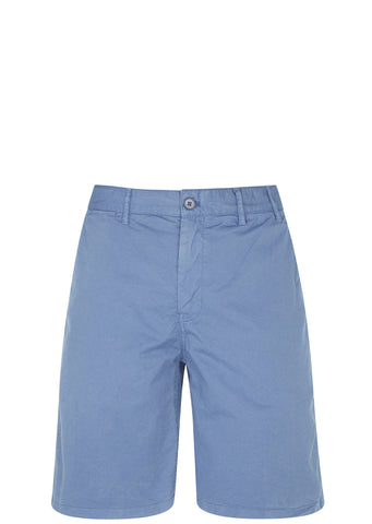 SS17 Aros Light Twill Shorts in Marginal Blue