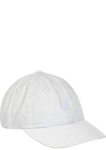 SS17 Light Twill Sports Cap in Ecru