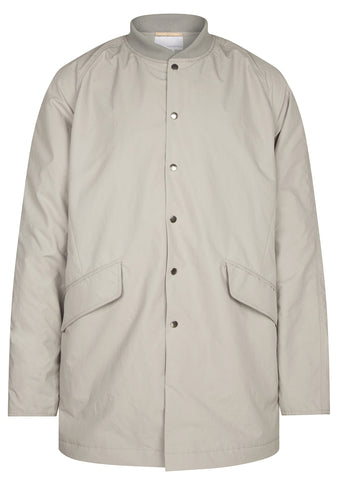 SS17 Micro Polyester Taffetta Ground Coat in Beige